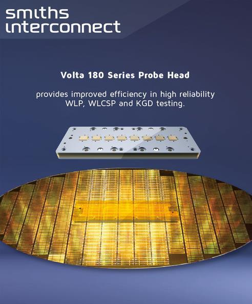 史密斯英特康发布 Volta 180 系列探针头提升晶圆测试方案性能