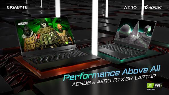 技嘉科技推出全新RTX 30笔记本产品系列