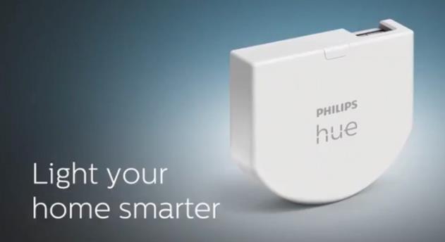 飞利浦 Hue 宣布推出一款全新的无线调光开关模块