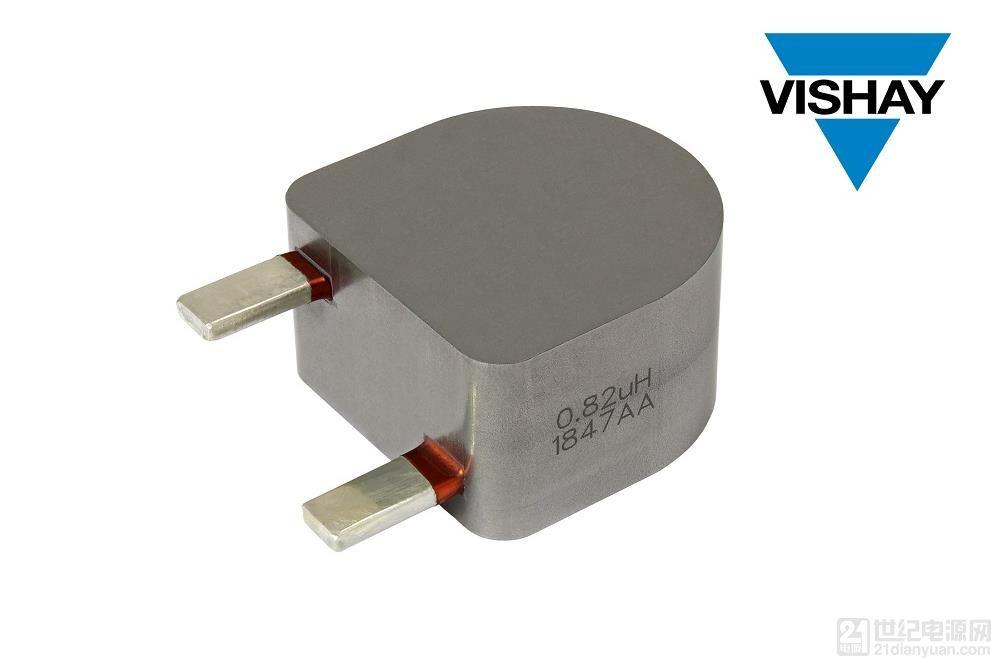 Vishay 推出饱和电流高达 420 Amp 的新款汽车级插件电感器