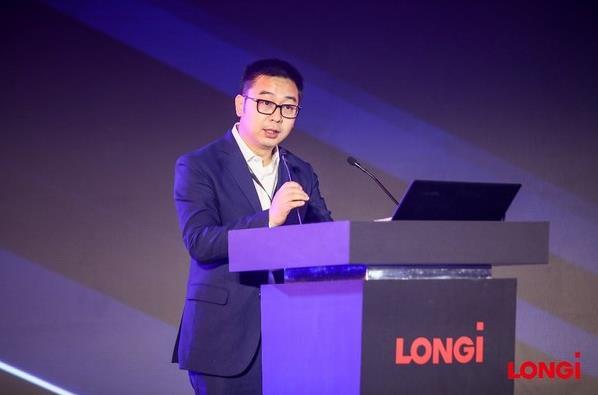 隆基乐叶光伏科技有限公司高级副总裁佘海峰