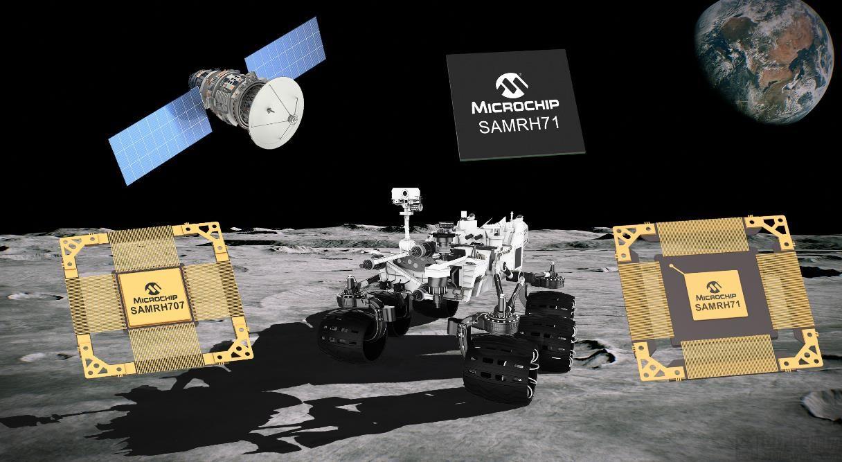 Microchip 宣布扩展用于空间系统的抗辐射 Arm 单片机(MCU)产品阵容