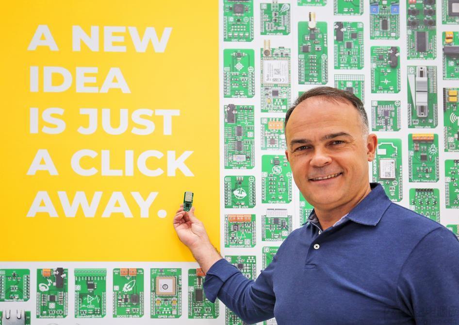 MIKROE 发布 EtherCAT Click,庆祝其推出第 1000 款 Click 板