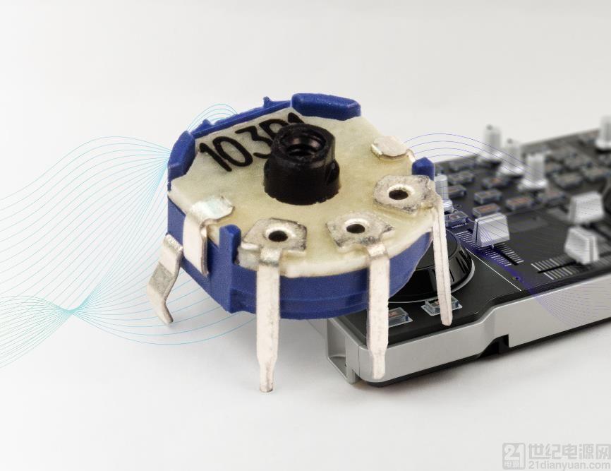 Bourns 推出全新微型旋转式电位器系列
