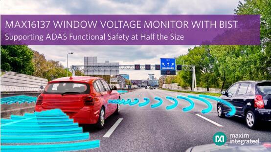 Maxim Integrated基础模拟监控产品线推出业界首款带有自检功能的汽车级窗电压监测器,理想