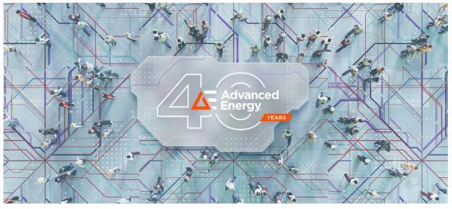 40周年!Advanced Energy,生日快乐!